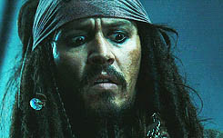 Unexpected result, Jack Sparrow animated GIF