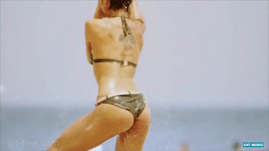 Hot girl dance free GIF download