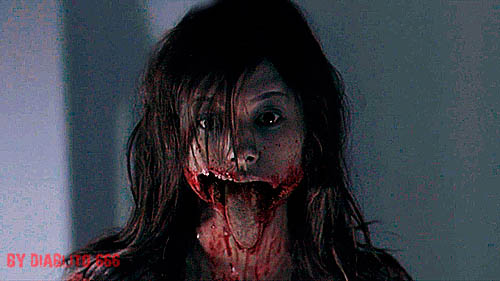 Horror face free GIF download