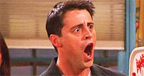 Joey is shocked moving picture