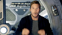 Chris Pratt blow mind animated GIF