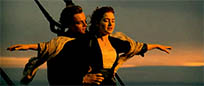 Titanic enjoy sunset moving picture