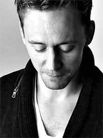 Tom Hiddleston hot look animated GIF