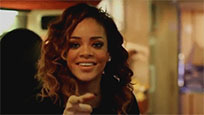 Rihanna reaction animated GIF