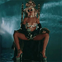 Rihanna money animated GIF