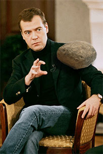 Medvedev magic moving picture