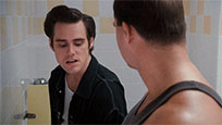 Ace Ventura peeing animated GIF