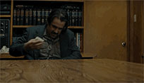True Detective gives money animated GIF