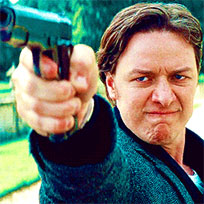 Threatening with gun animated GIF