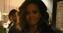 Funny Rihanna smile animated GIF