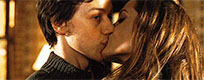 Angelina Jolie kisses James McAvoy animated GIF