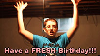 Have fresh Birthday animated GIF