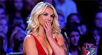 Britney Spears X Factor animated GIF