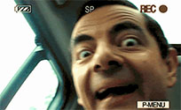Funny Mr Bean animated GIF
