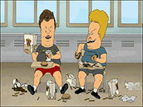 Beavis and Butt-head food moving picture