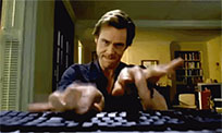 Jim Carrey keyboard moving picture