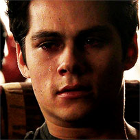 Dylan Obrien crying animated GIF