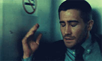Jake Gyllenhaal mind blown moving picture