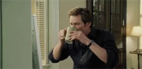 Jim Carrey coffee moving picture
