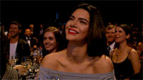 Kendall Jenner thank you animated GIF
