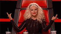Christina Aguilera here moving picture