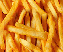 French fries moving picture