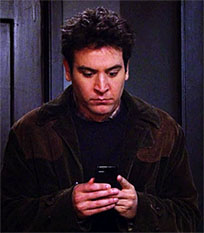 Ted Mosby sms reaction animated GIF