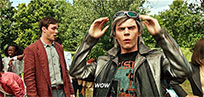 X-Men Quicksilver Wow animated GIF