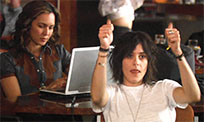 Kate Moennig thumbs up animated GIF