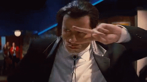 John Travolta Dancing animated GIF