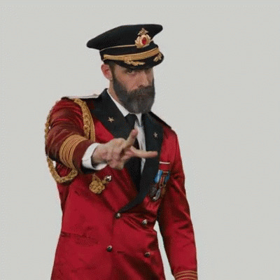 Peace Out Captain Obvious free GIF download