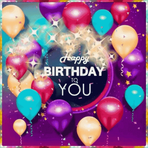 Happy Birthday To You free GIF download