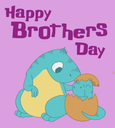 Happy Brothers Day Little Brother free GIF download