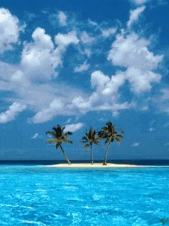 Good Afternoon Clear Waters free GIF download