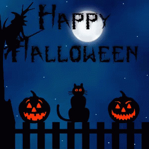 Happy Halloween free GIF download