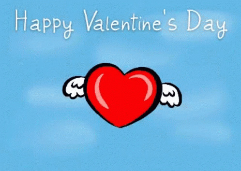 Happy Valentines Day Heart free GIF download
