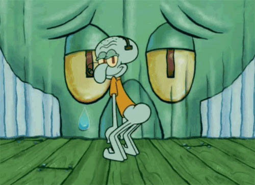 Twerk from Squidward free GIF download