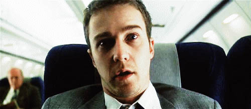 Edward Norton from Fight Club free GIF download