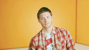Jensen Ackles approves animated GIF