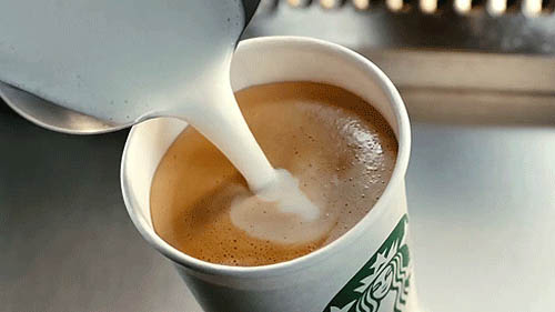 Coffee Starbucks animated GIF