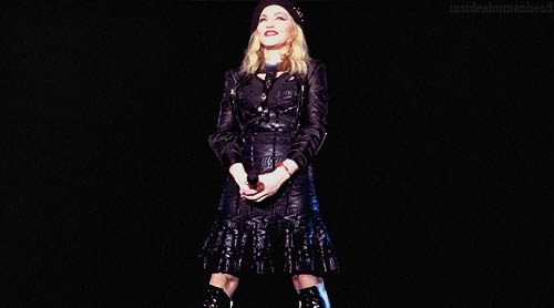 Madonna loves you animated GIF