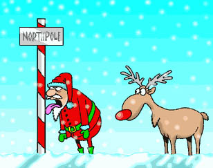 North Pole animated GIF