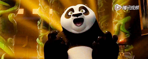 Kung Fu Panda moving picture