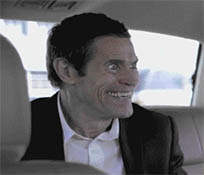 The smile man Willem Dafoe animated GIF