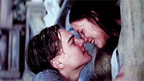Titanic kiss animated GIF