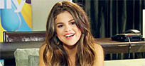 Selena Gomez air kiss animated GIF