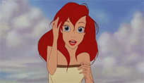 Disney flirting play with hair moving picture