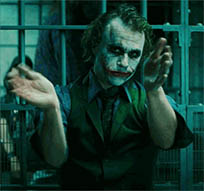 Joker clap animated GIF