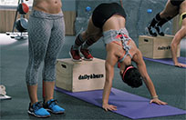 Plyo box exercises moving picture