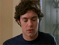 Seth Cohen facepalm reaction animated GIF